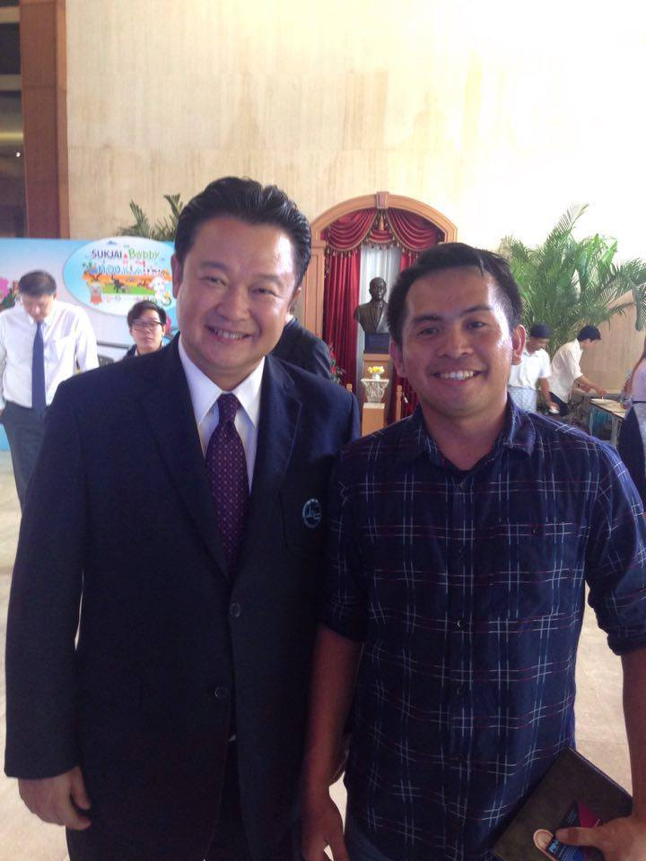TAT Governor with PinoyThaiyo founder Jezreel Llanera