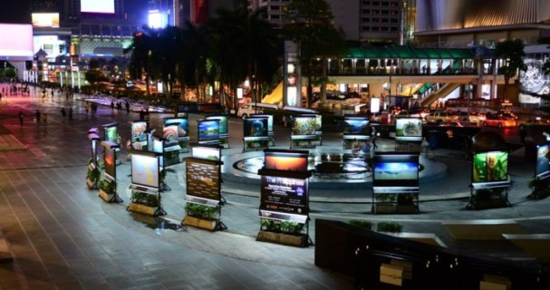 Philipine Embassy photo exhibit at Central World