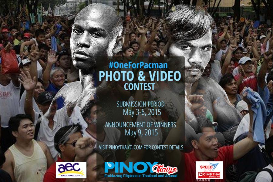 pinoy-thaiyo pacquaio vs mayweather contest