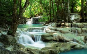 pinoy thaiyo erawan waterfalls kanchanaburi alex salde