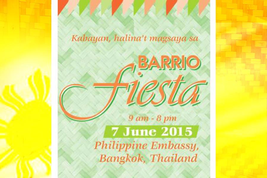 pinoythaiyo barrio fiesta 2015