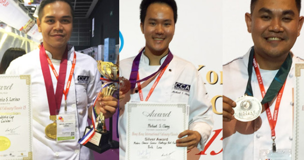 Filipino Chefs Win Awards in Hongkong