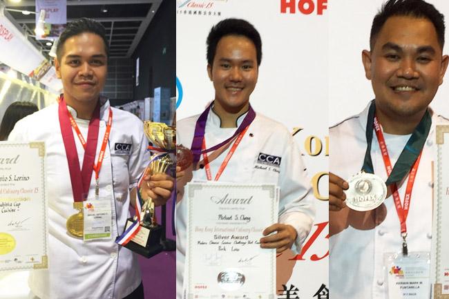 Filipino Chefs Win Awards in Hongkong