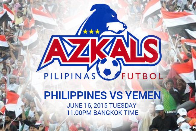 PHL Azkals vs Yemen 2015