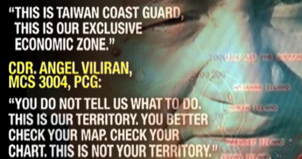 Philippine Coast Guard and Taiwanese Coast Guard Standoff2