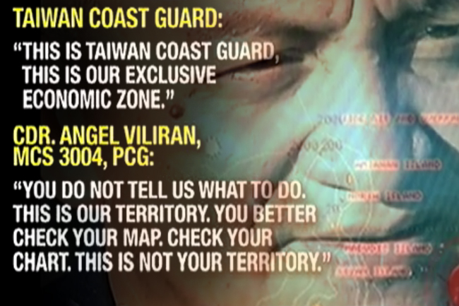 Philippine Coast Guard and Taiwanese Coast Guard Standoff2