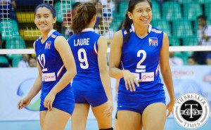 Philippine Women's Volleyball team SEA Games 2015