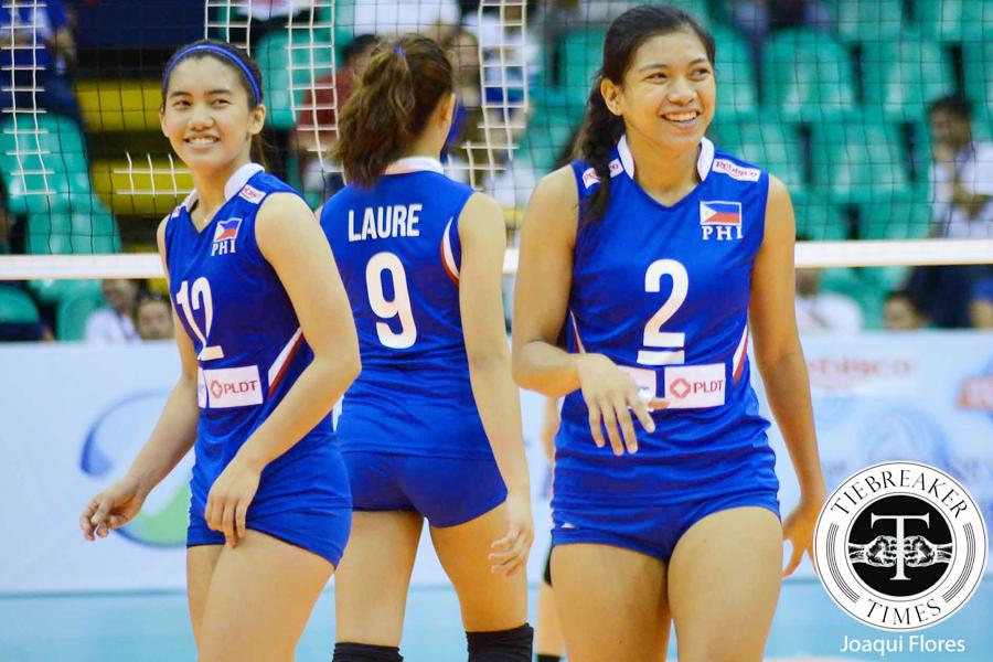 Philippine Women's Volleyball team SEA Games 2015