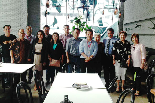 CIMB officials with some Filipino reps