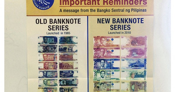 Old Peso Bills