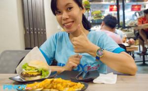 Teddys Bigger Burgers in Bangkok