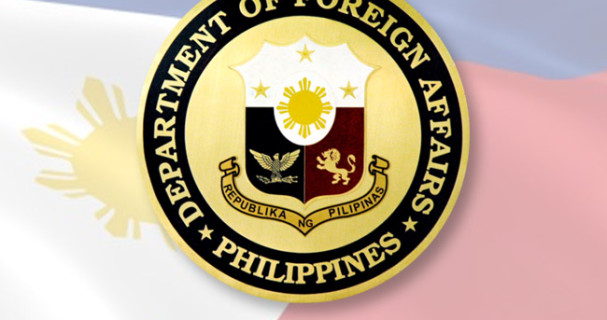The Philippines' Department of Foreign Affairs issues statement on