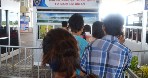 Thai-Cambodia visa run