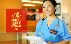 550 Filipino Nurses Needed in Germany