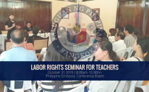 Labor Rights Seminar for Teachers