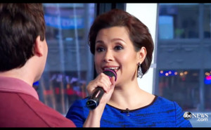 Lea Salonga with Brad Kane