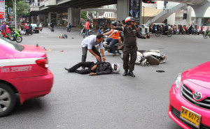 Thailand road accidents