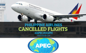 PAL cancelled flight APEC2015