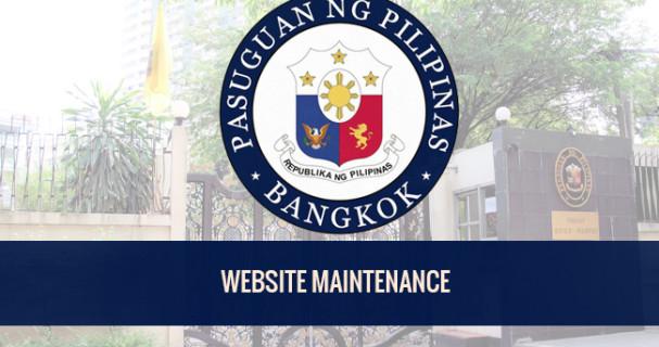 PHL Embassy website maintenance