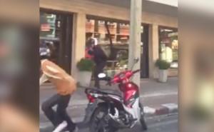 gang fighting in Bangkok
