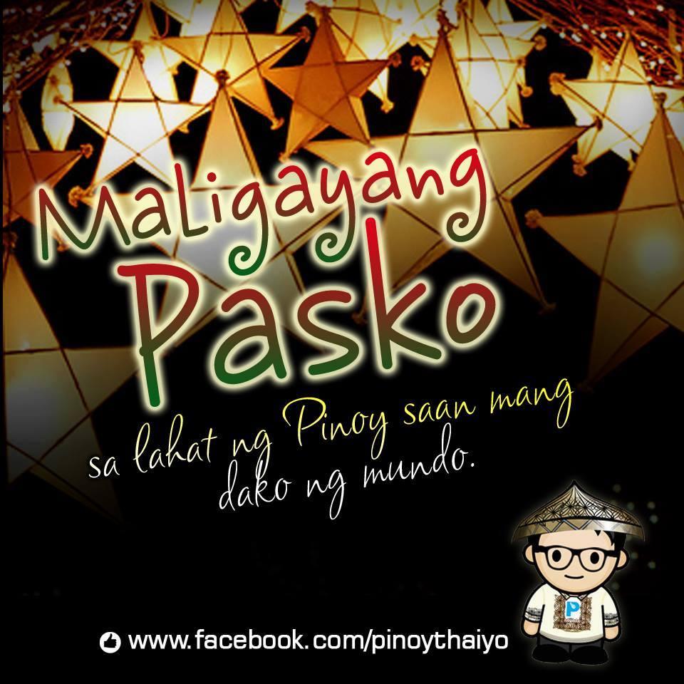 Maligayang Pasko 2015 - Pinoy Thaiyo