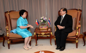 Ambassador Aragon paid courtesy call to Thailand MFA