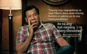 Duterte last christmas tv ad 2
