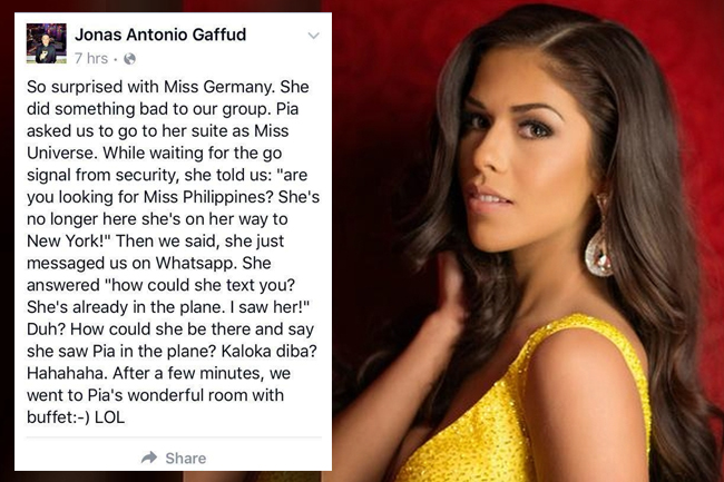 Ms  Germany believes 'Ms  Colombia was robbed' | Pinoy Thaiyo