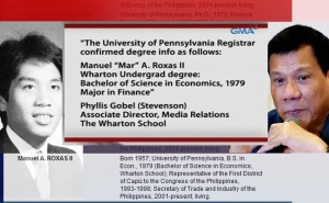 Mar a graduate of Wharton