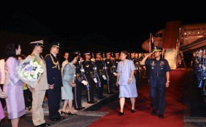 Official visit of HRH Princess Maha Chakri Sirindhorn to the Philippines in 2009. Photo: Royal Thai Embassy Manila