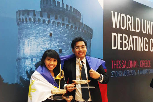Filipinos as world champions in WUDC