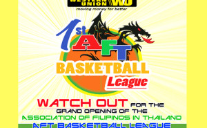 Western Union basketball league with AFT