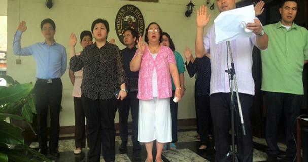 embassy oath