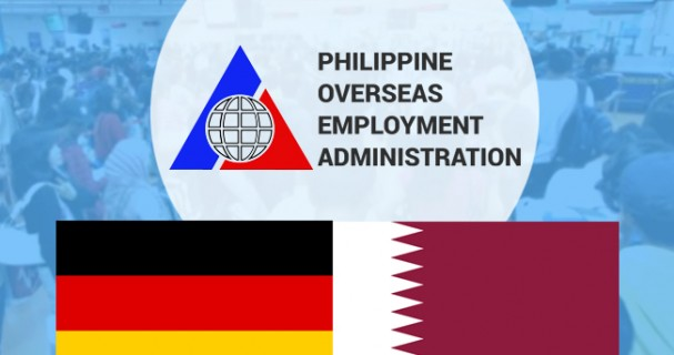 400,000 jobs in Germany and Qatar