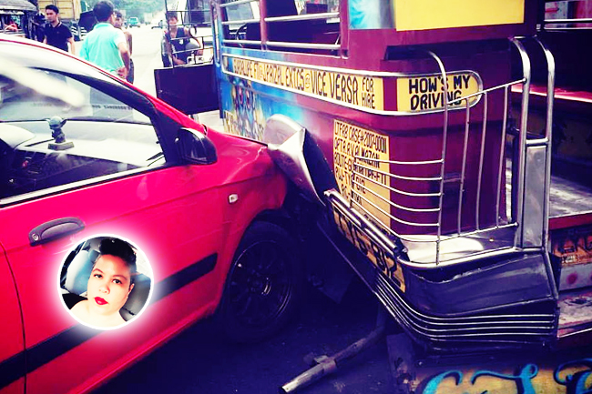 Bernice Flynn and the jeepney accident