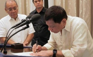 Duterte signs pension hike