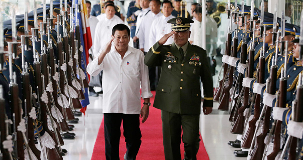 Duterte visits Thailand