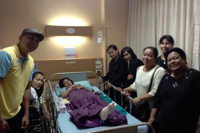 Filipina-survivor-Chonburi-Bangkok-accident