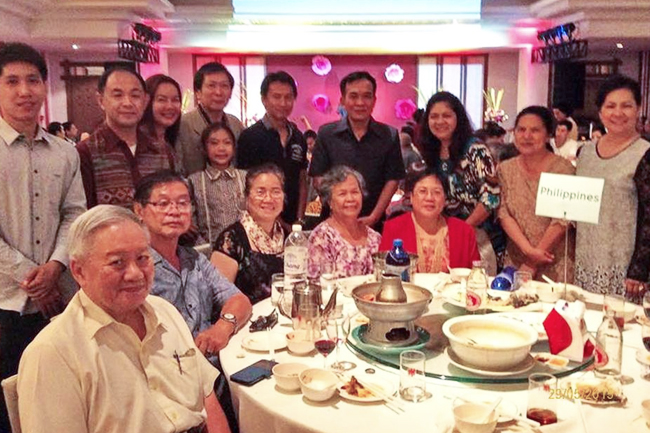 Filipino Community in Chiang Mai for fundraising