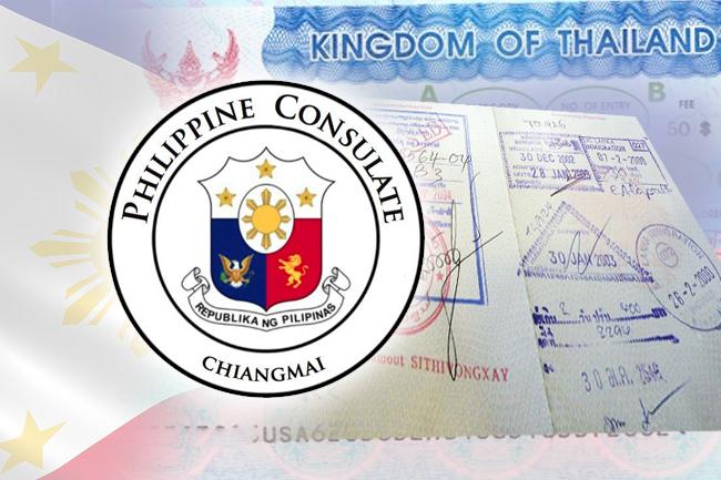Filipino tourist detained in Chiang Rai