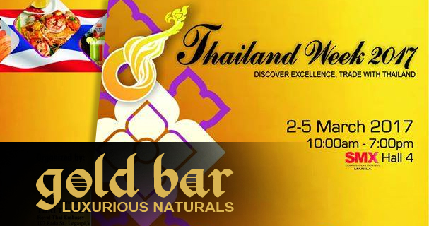 Gold Bar at Thailand Week Manila 2017