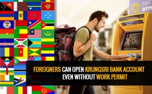 Open bank account without work permit