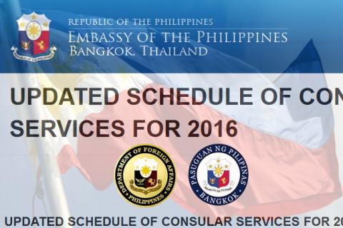 Philippine embassy in bangkok celebrates international for Consular services