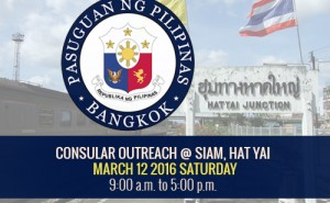 PHL Embassy consular activity in Hat Yai
