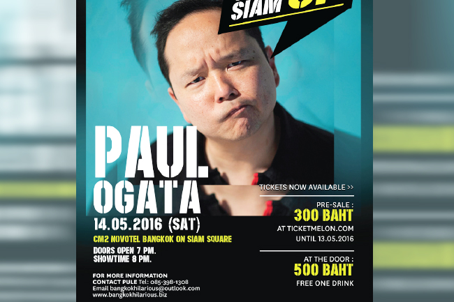 Paul Ogata in Thailand
