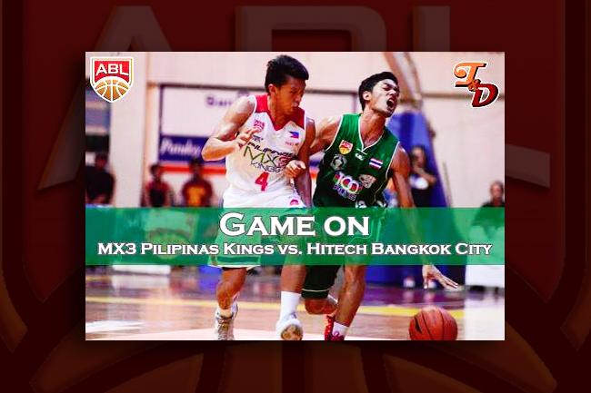 Pilipinas MX3 against HiTech Bangkok City
