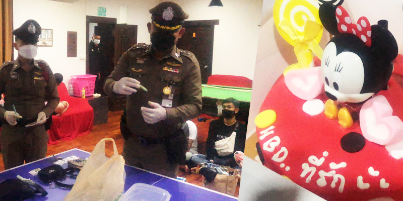 PinoyThaiyo birthday party pattaya drugs covid