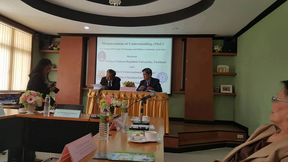 SRIA-PCU sign partnership with Nakhon Pathom Rajabhat University 3