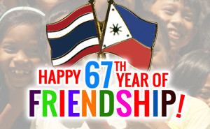 Thailand Philippines 67th year of friendship
