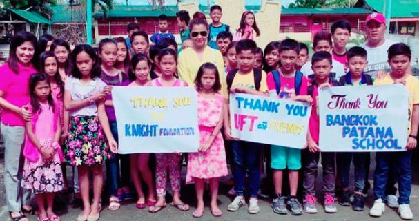 UFT raises money